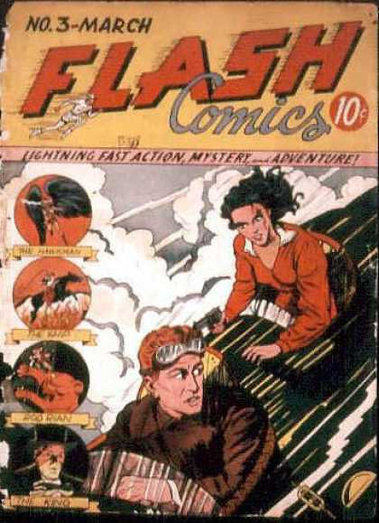 Flash Comics 3 - Sheldon Moldoff