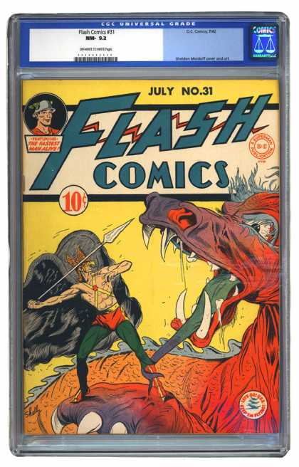 Flash Comics 31 - Sheldon Moldoff