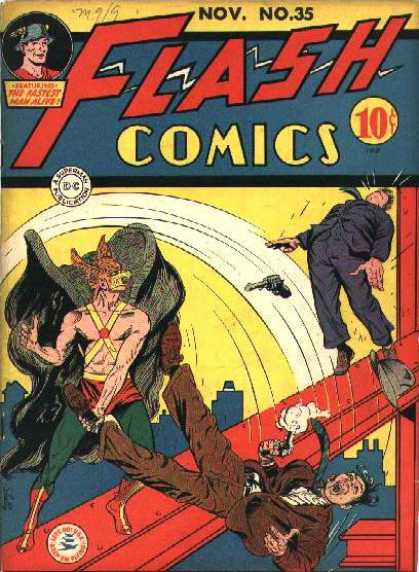 Flash Comics 35 - Sheldon Moldoff