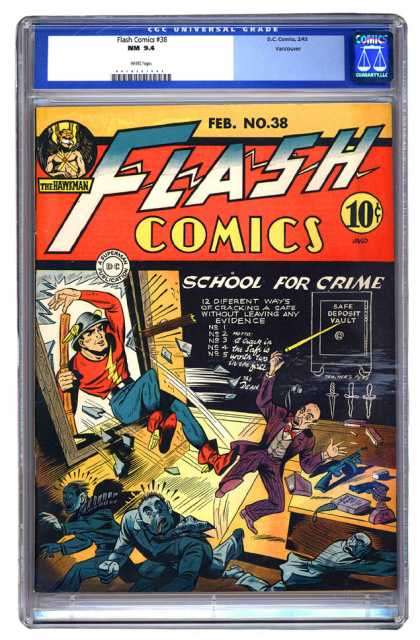 Flash Comics 38
