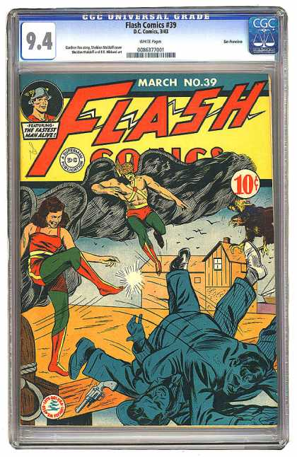 Flash Comics 39 - Sheldon Moldoff