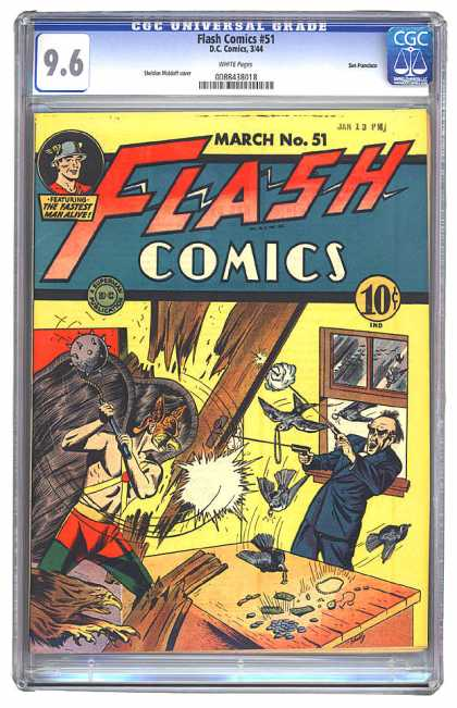 Flash Comics 51 - Sheldon Moldoff