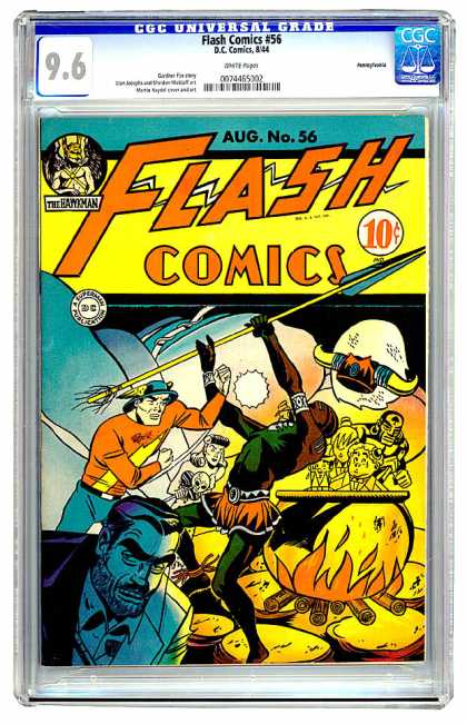 Flash Comics 56