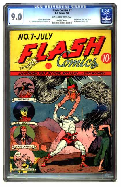 Flash Comics 7 - Sheldon Moldoff