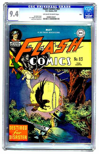 Flash Comics 83 - Joe Kubert