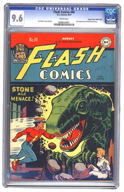 Flash Comics 86 - Joe Kubert, Lee Elias