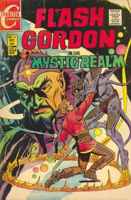Flash Gordon 16 - Aliens - Monsters - Mustache - Sword - Planets
