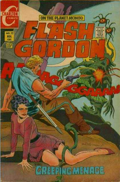 Flash Gordon 17 - Snake - Man - Woman - Gun - Bugs