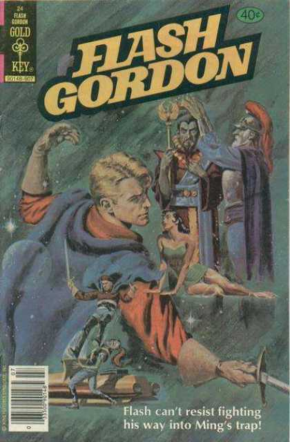 Flash Gordon 24 - Gold - Key - Fighting - Way - Trap