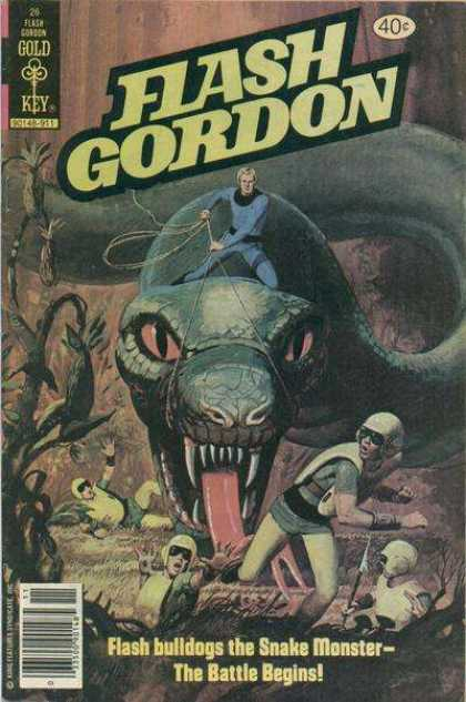 Flash Gordon 26 - Monsters - Gold Key - Flash - Gordon - Battle
