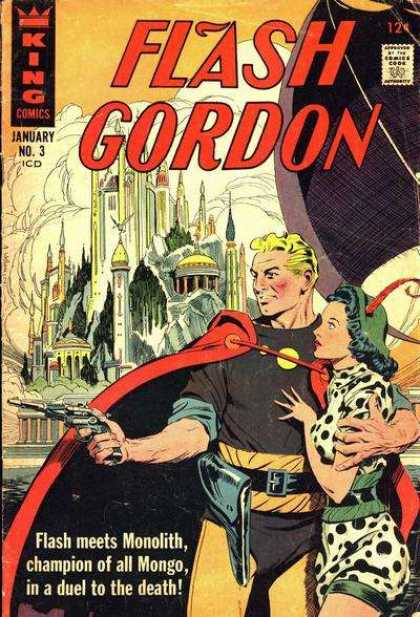 Flash Gordon 3 - Sci-fi - City - Monolith - Mongo - King Comics - Alex Raymond, Dan Jurgens