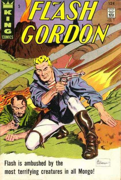 Flash Gordon 5 - Lightining - Gun Fire - Jungle Fire - Creature Creepers - Ambushed In Congo - Alex Raymond, Dan Jurgens