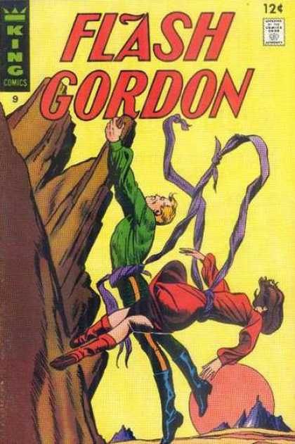 Flash Gordon 9 - Climbing - Ribbon - Desert Planet - Red Sun - Woman In Red - Alex Raymond, Dan Jurgens