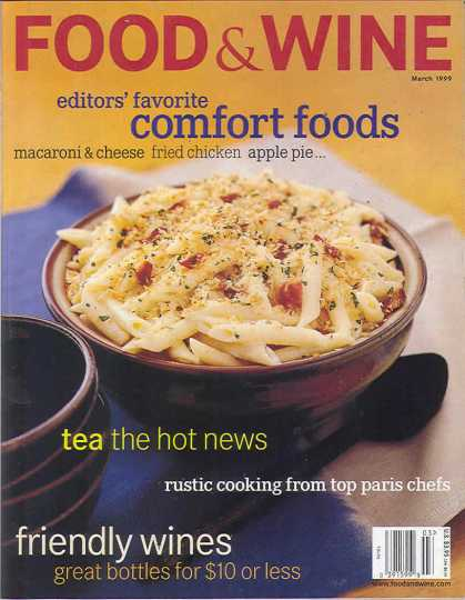 Food & Wine - March 1999