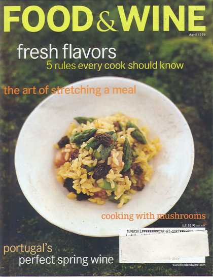 Food & Wine - April 1999