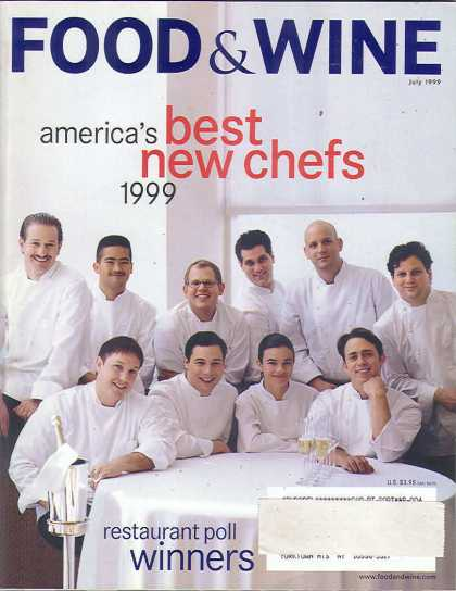 Food & Wine - July 1999