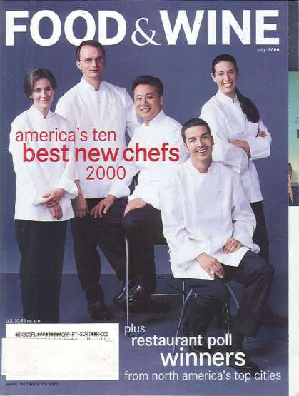 Food & Wine - July 2000