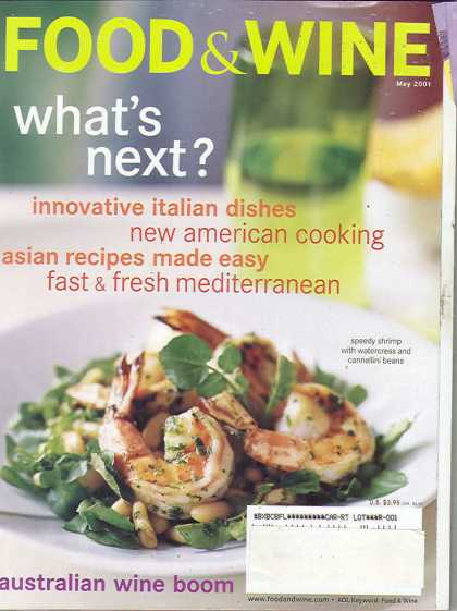 Food & Wine - May 2001