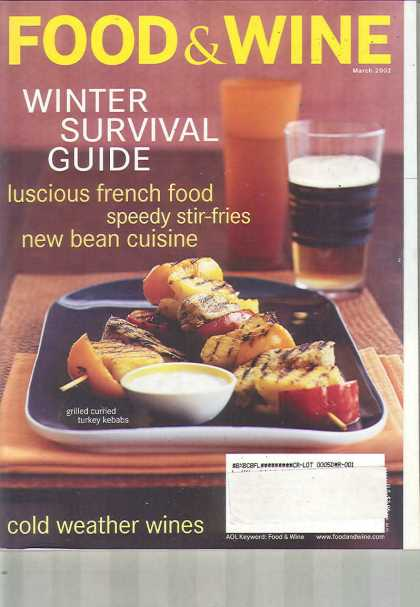 Food & Wine - March 2002