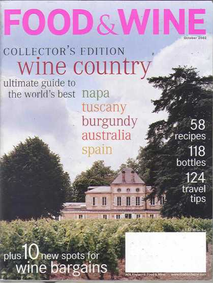 Food & Wine - October 2002
