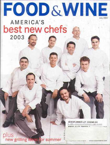 Food & Wine - July 2003