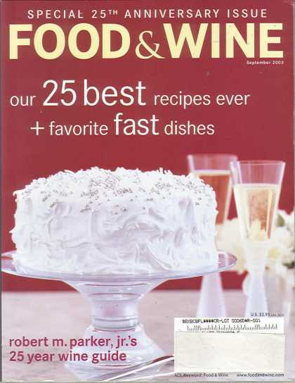 Food & Wine - September 2003