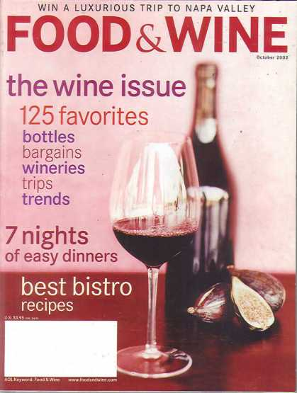 Food & Wine - October 2003