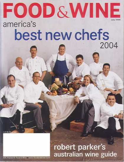 Food & Wine - July 2004