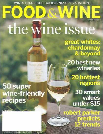 Food & Wine - October 2004
