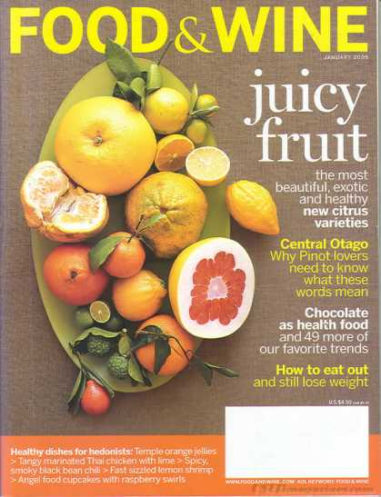 Food & Wine - January 2005