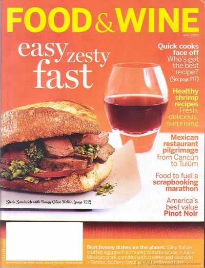 Food & Wine - May 2005