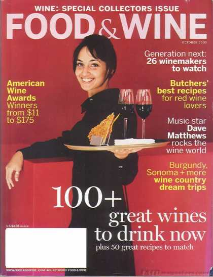 Food & Wine - October 2005