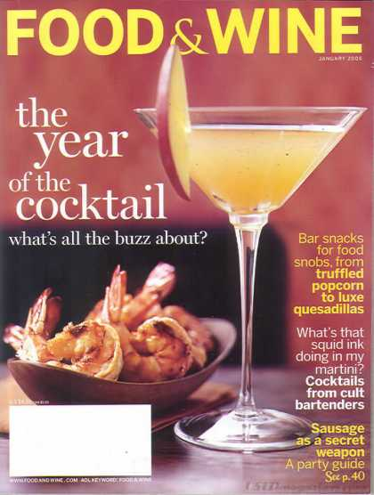 Food & Wine - January 2006