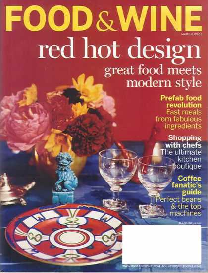 Food & Wine - March 2006