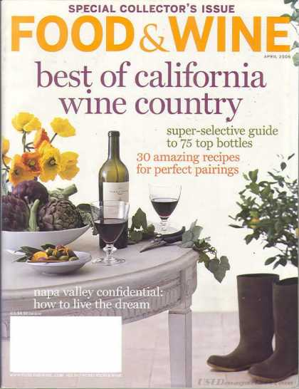 Food & Wine - April 2006