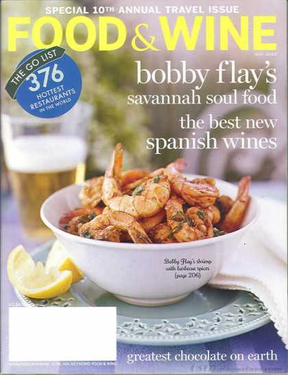 Food & Wine - May 2006