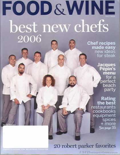 Food & Wine - July 2006
