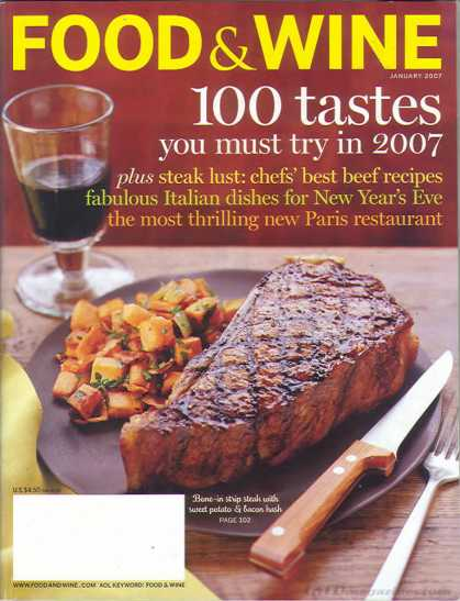 Food & Wine - January 2007