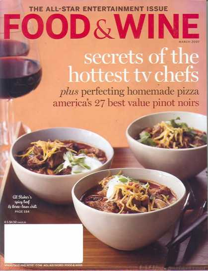Food & Wine - March 2007