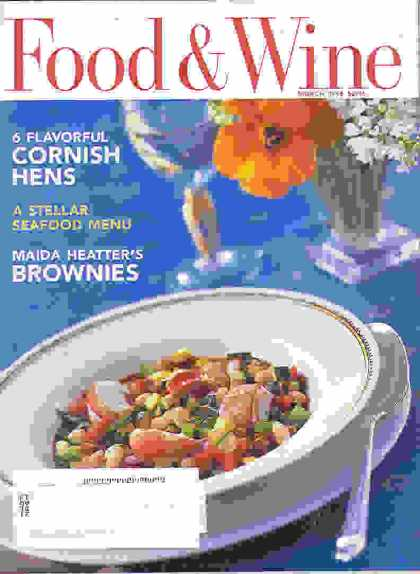Food & Wine - March 1995
