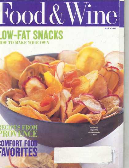 Food & Wine - March 1996