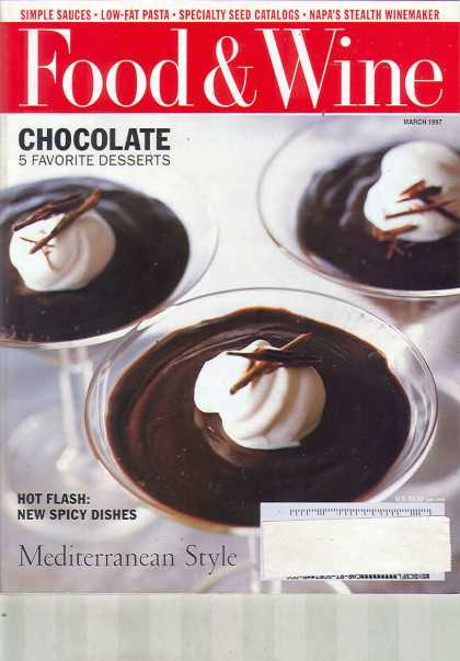 Food & Wine - March 1997