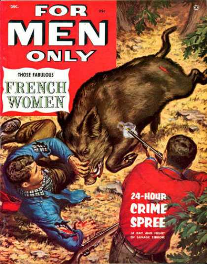 For Men Only - 12/1954
