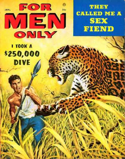 For Men Only - 1/1955