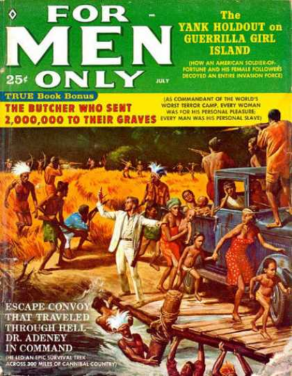 For Men Only - 7/1960
