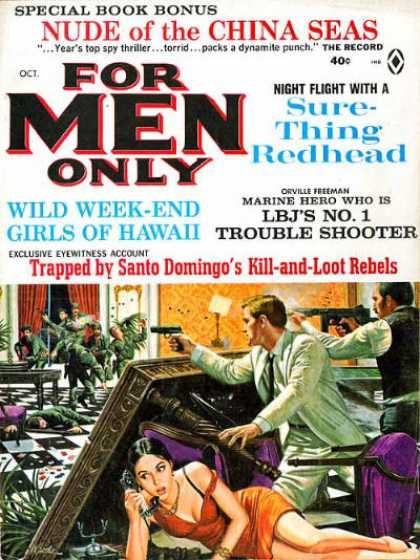 For Men Only - 10/1965