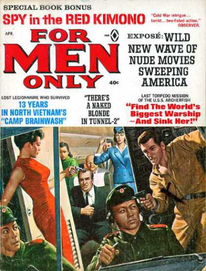 For Men Only - 4/1966