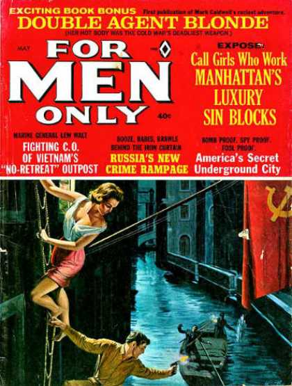 For Men Only - 5/1966