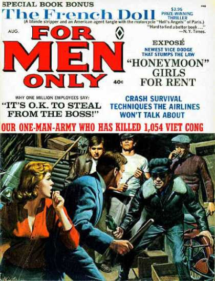 For Men Only - 8/1966
