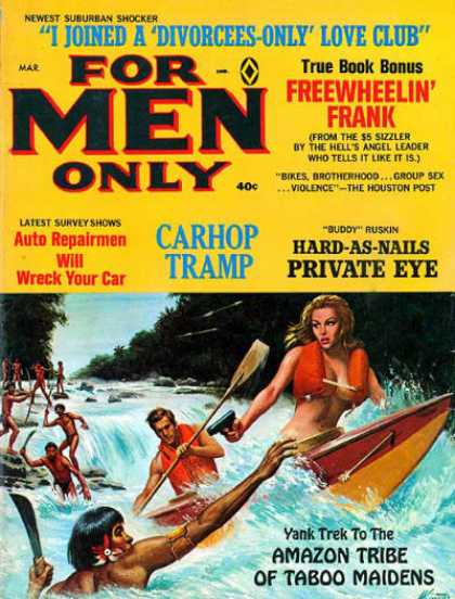 For Men Only - 3/1968